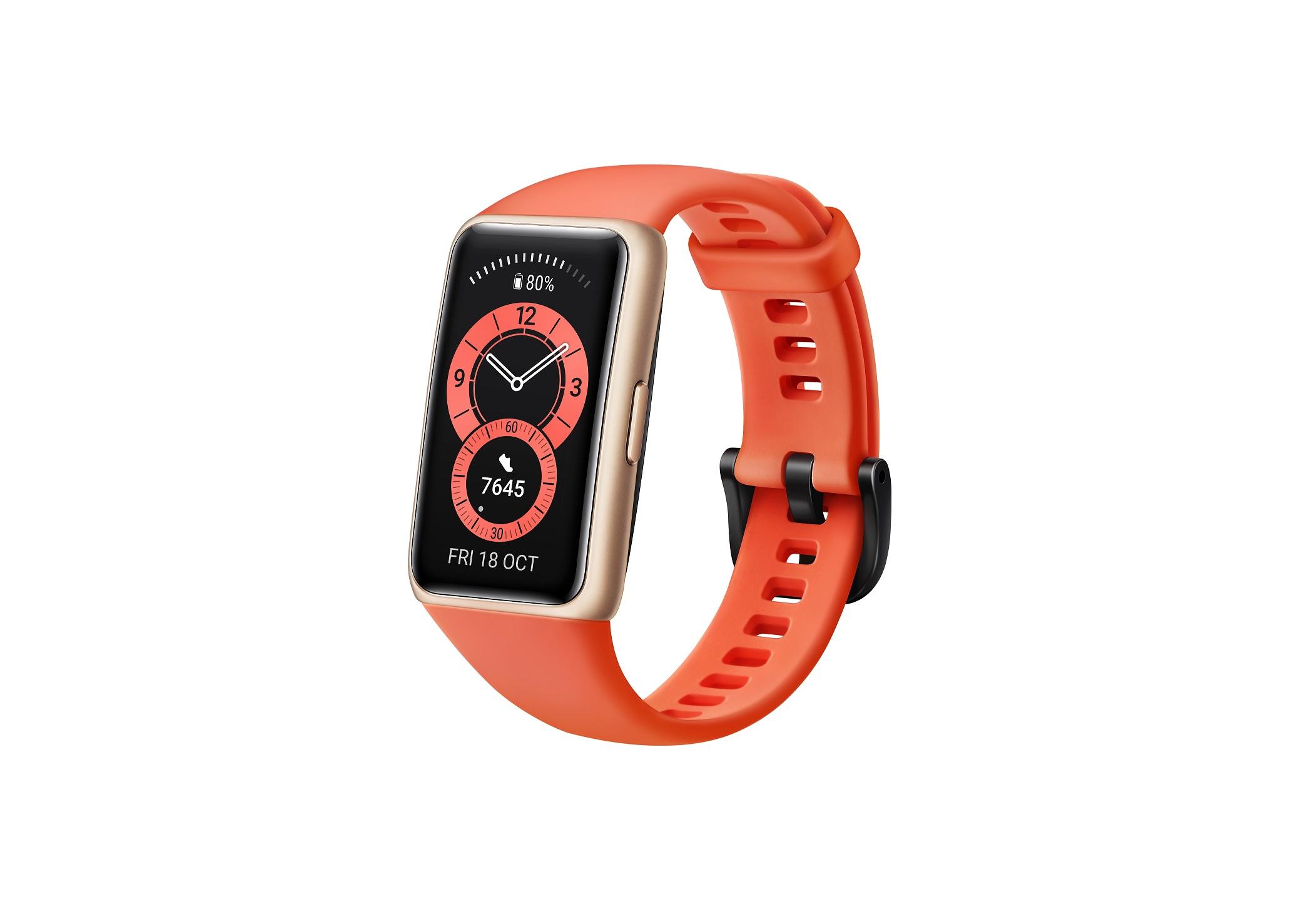 Huawei Band 6 Amber Sunrise - 55026636