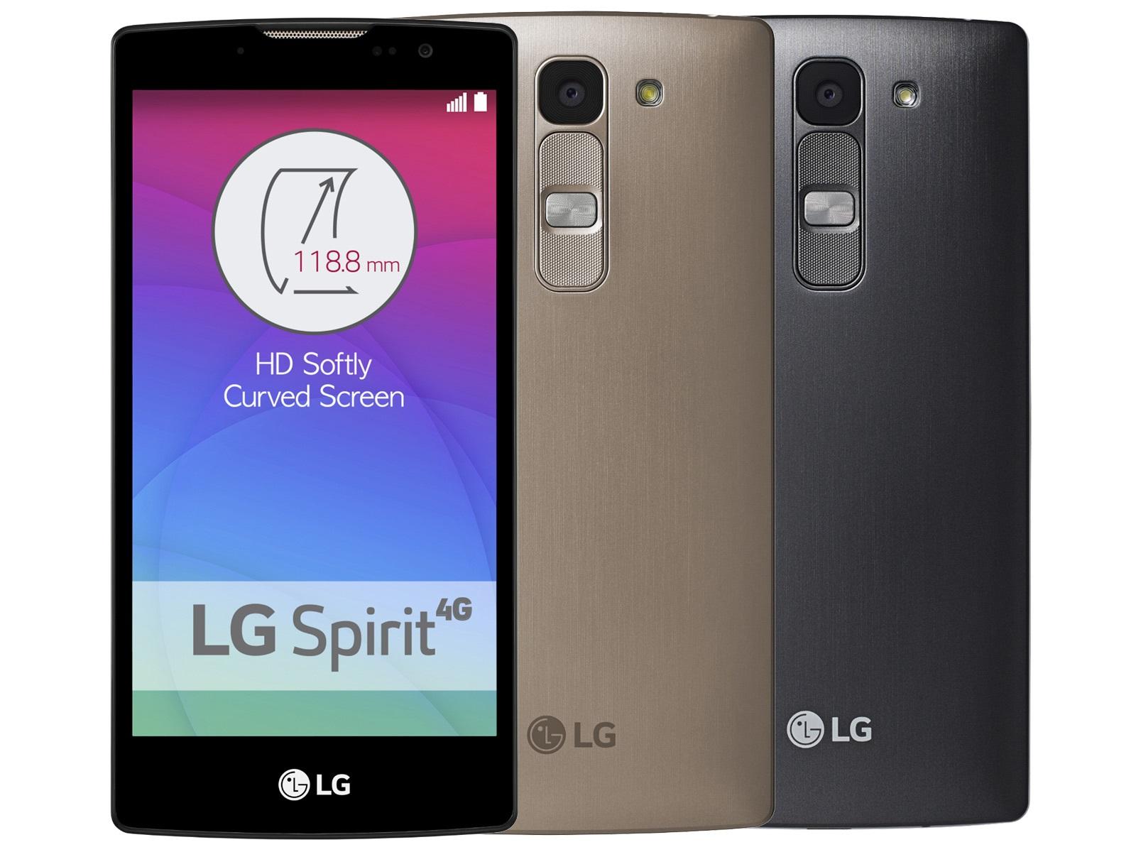 LG Spirit 4G LTE (H440n) - zlatý