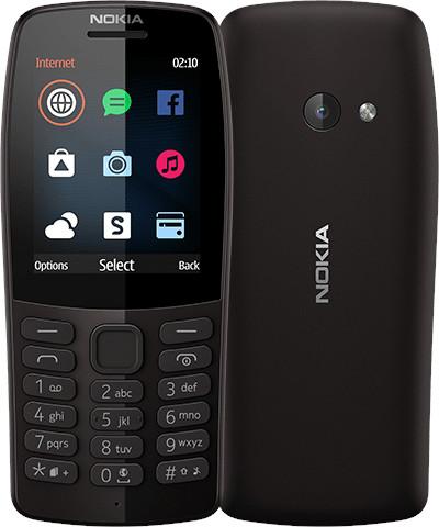 Nokia 210 Dual SIM, černá (CZ Distribuce)