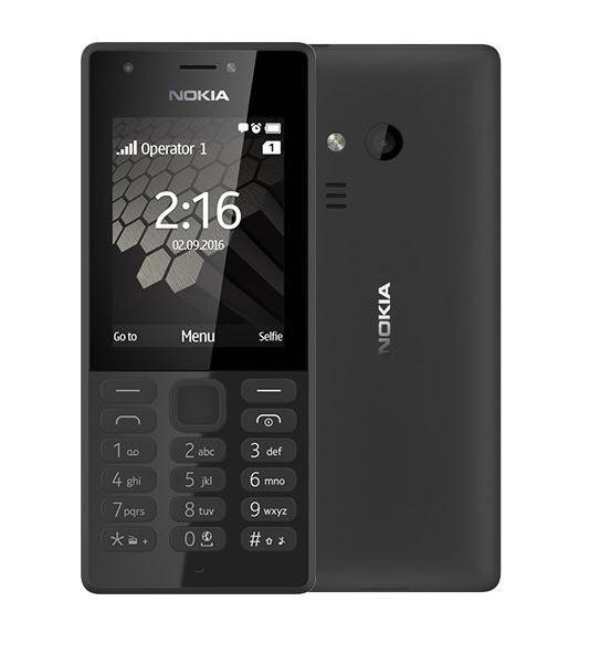 Nokia 216 Dual SIM, černá (CZ Distribuce)