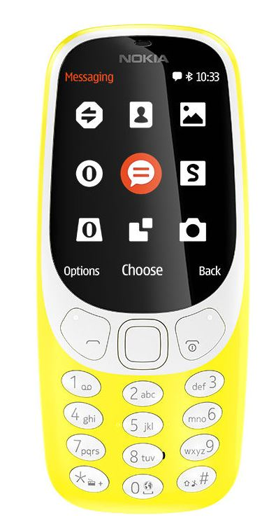 Nokia 3310 Dual SIM 2017 Yellow (CZ Distribuce)
