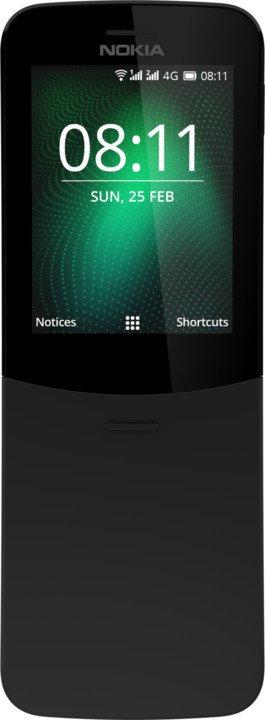 Nokia 8110 4G Single SIM Black