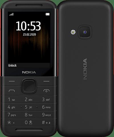 Nokia 5310 Dual SIM Black/Red - 16PISX01A13
