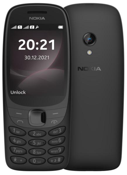 Nokia 6310 Dual SIM Black - 16POSB01A03