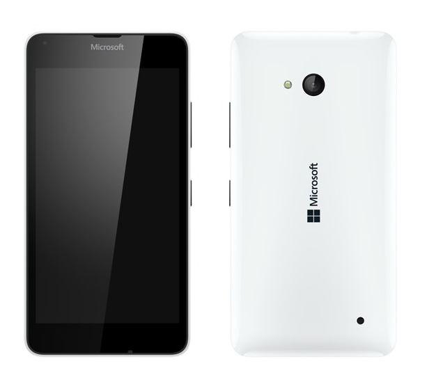 Microsoft Lumia 640 LTE, bílá + černý kryt