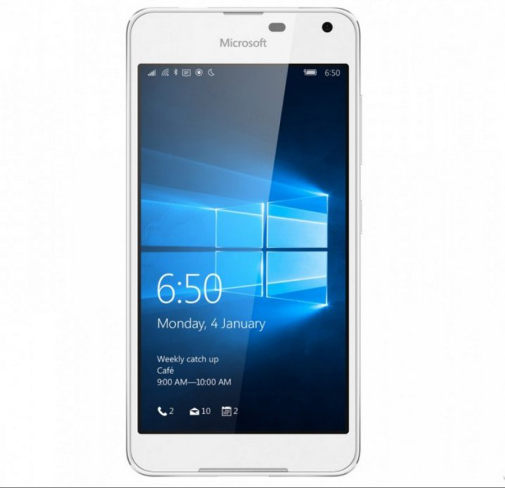 Microsoft Lumia 650 Dual SIM White