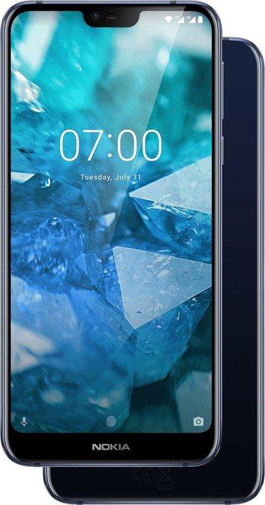 Nokia 7.1 Dual SIM 4/64GB Blue (CZ Distribuce)