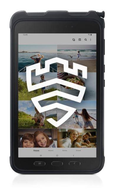 Samsung Galaxy Tab Active3 Wifi Black