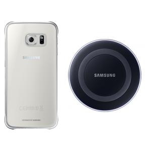Samsung Set Bezdrátového Dobíjení pro S6 Black