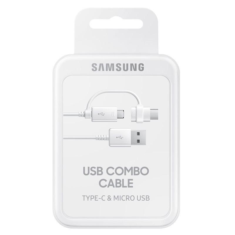 Samsung Kabel micro USB - USB typ C White - EP-DG930DWEGWW