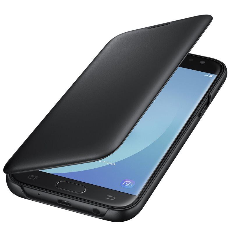 Samsung Wallet Cover J5 2017,  black
