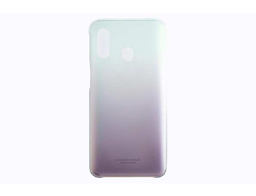 Samsung Gradation kryt pro Galaxy A40 Black