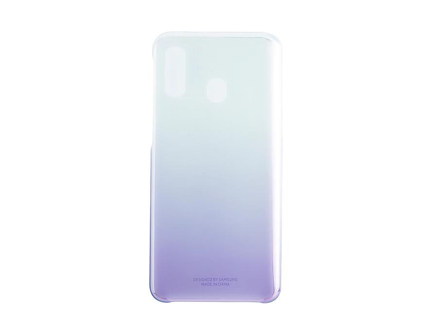 Samsung Gradation kryt pro Galaxy A40 Violet