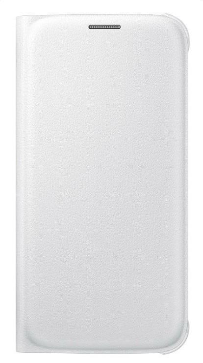Samsung flipové pouzdro s kapsou EF-WG920P pro Samsung Galaxy S6 (SM-G920F), Bílá
