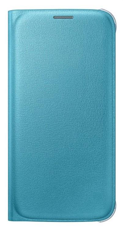 Samsung flipové pouzdro s kapsou EF-WG920P pro Samsung Galaxy S6 (SM-G920F), Modrá