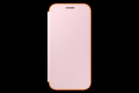 Samsung Flipové neonové pouzdro pro A3 2017 Pink
