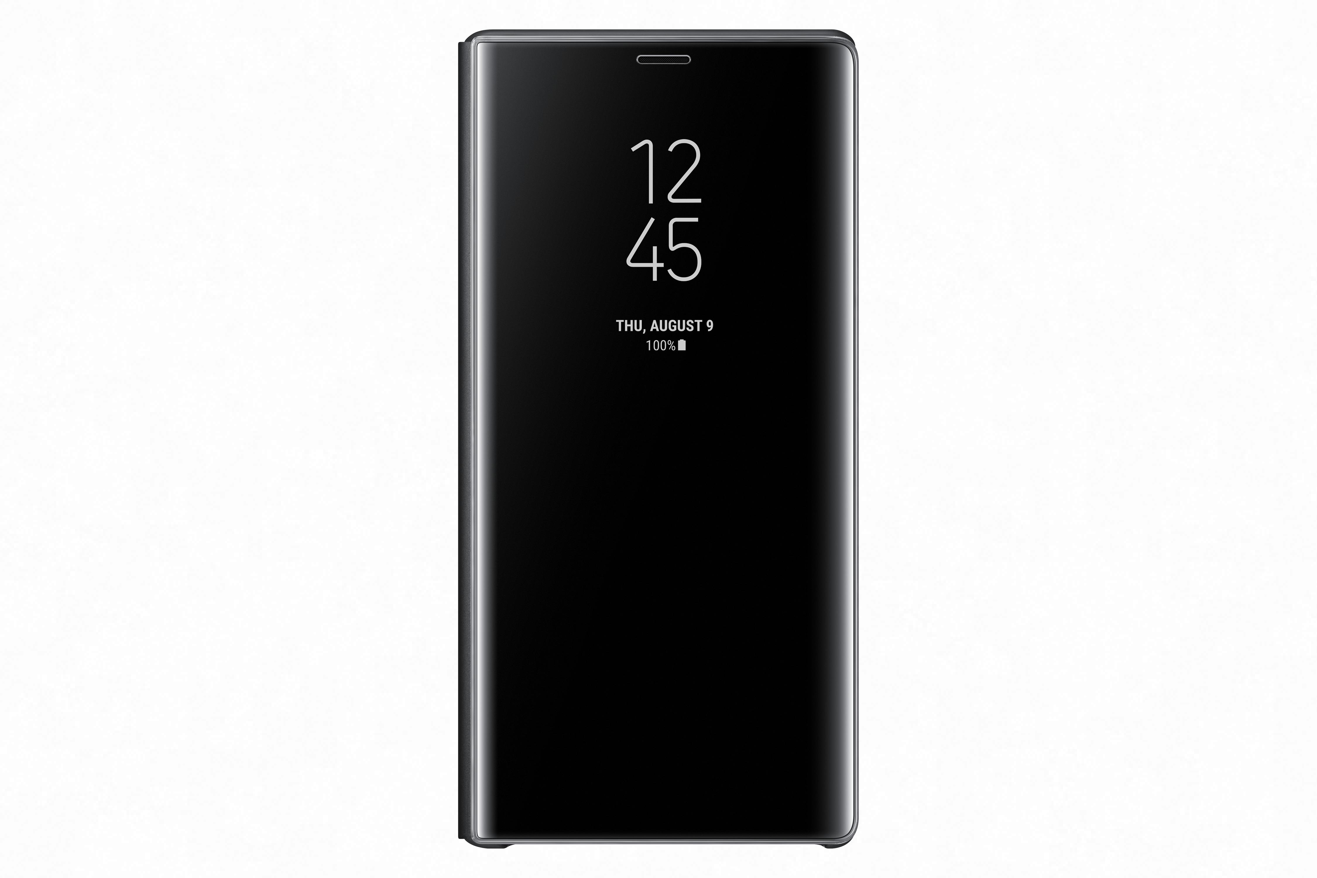 Samsung Flipové pouzdro Clear View se stojánkem pro Note 9 Black