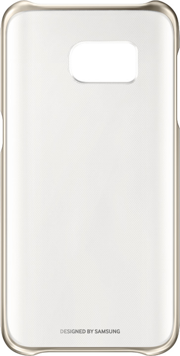 Samsung Clear Cover pro S7 (G930) Gold