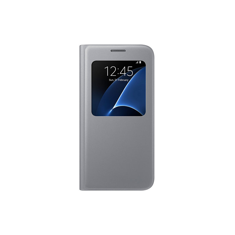 Samsung S View Cover pro S7 (G930) Silver