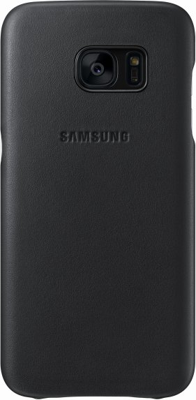 Samsung Leather Cover pro S7 (G930) Black