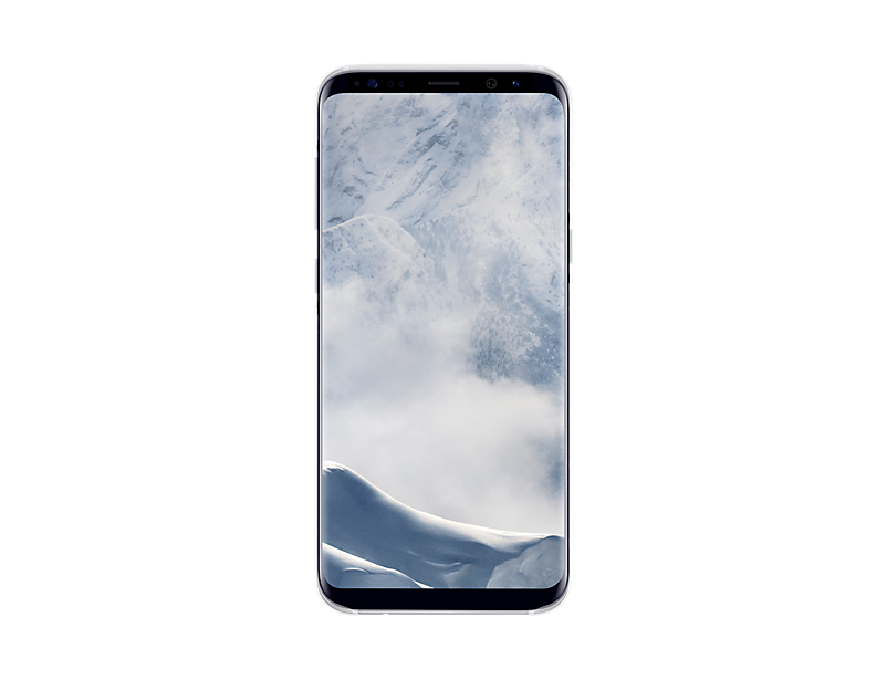 Samsung Clear Cover pro S8+ (G955) Silver