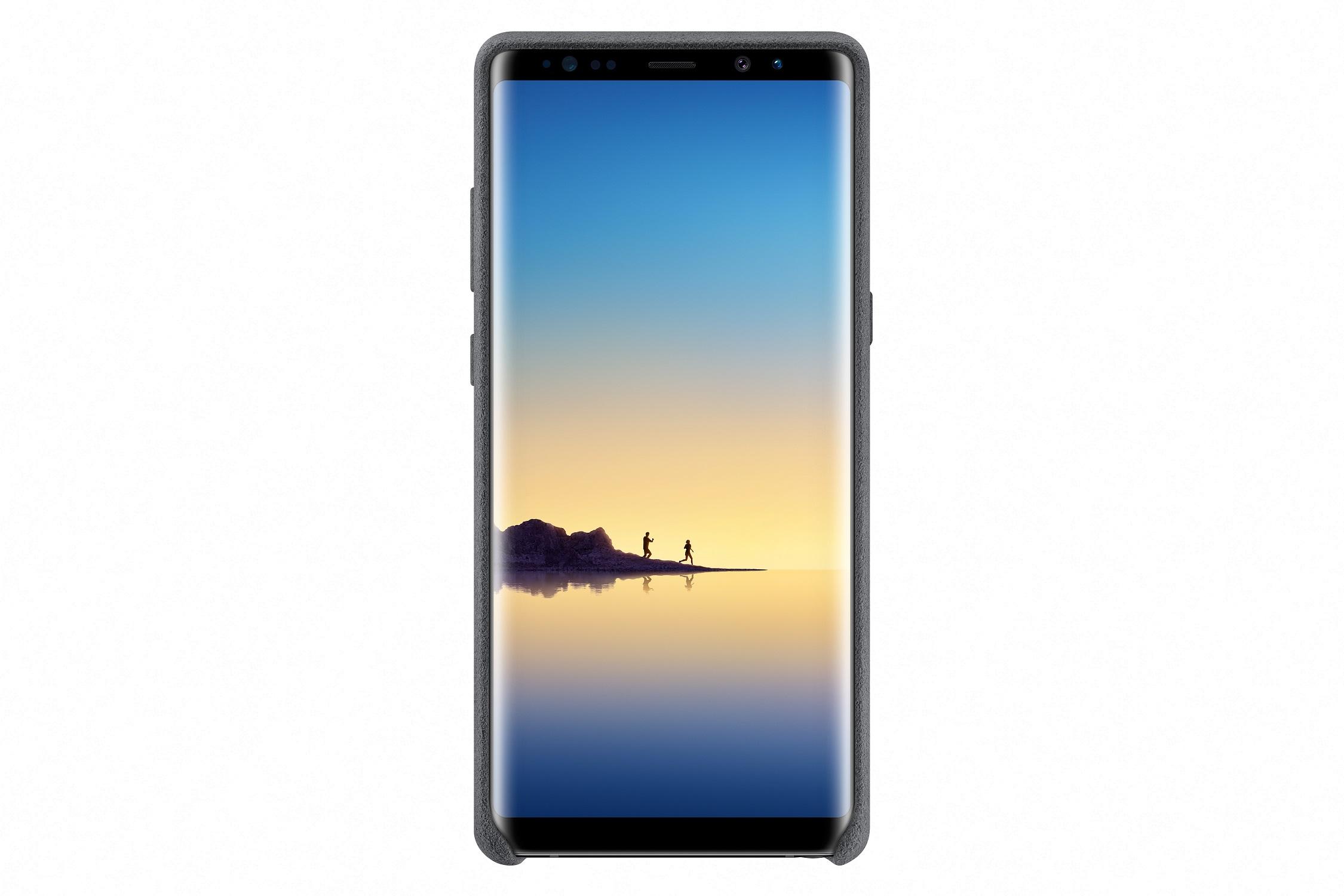 Samsung Alcantara Cover pro NOTE 8 Dark Gray