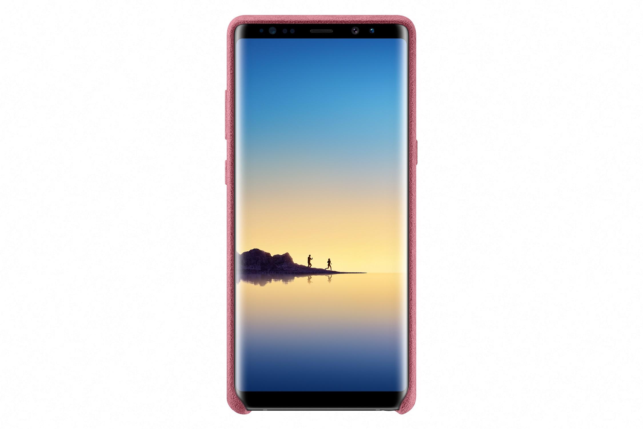 Samsung Alcantara Cover pro NOTE 8 Pink