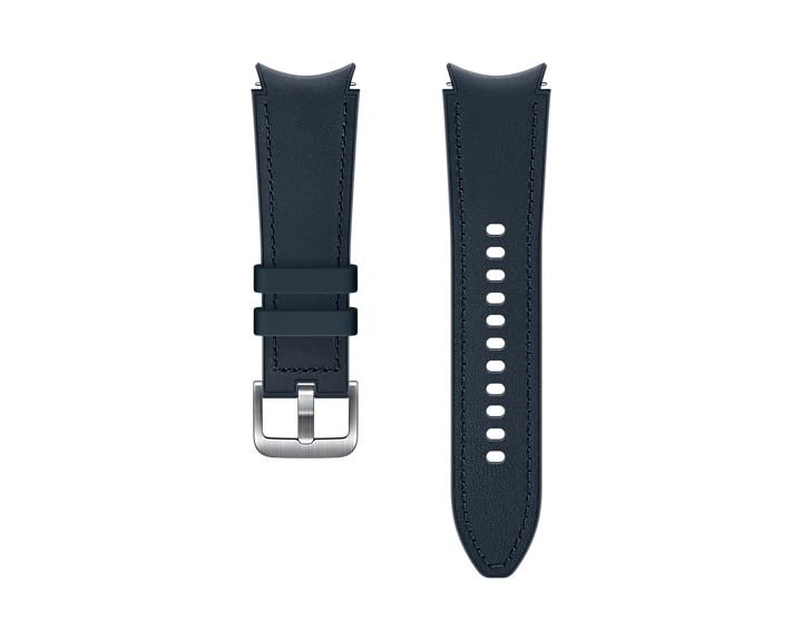 Samsung Hybridní kožený řemínek (20 mm,S/M) Navy