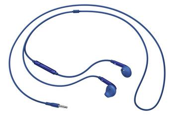 Samsung sluchátková sada stereo s ovládáním EO-EG920B, konektor 3,5 mm, modrá