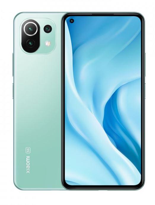 Xiaomi Mi 11 Lite 5G (6/128GB) zelená - 6934177734120