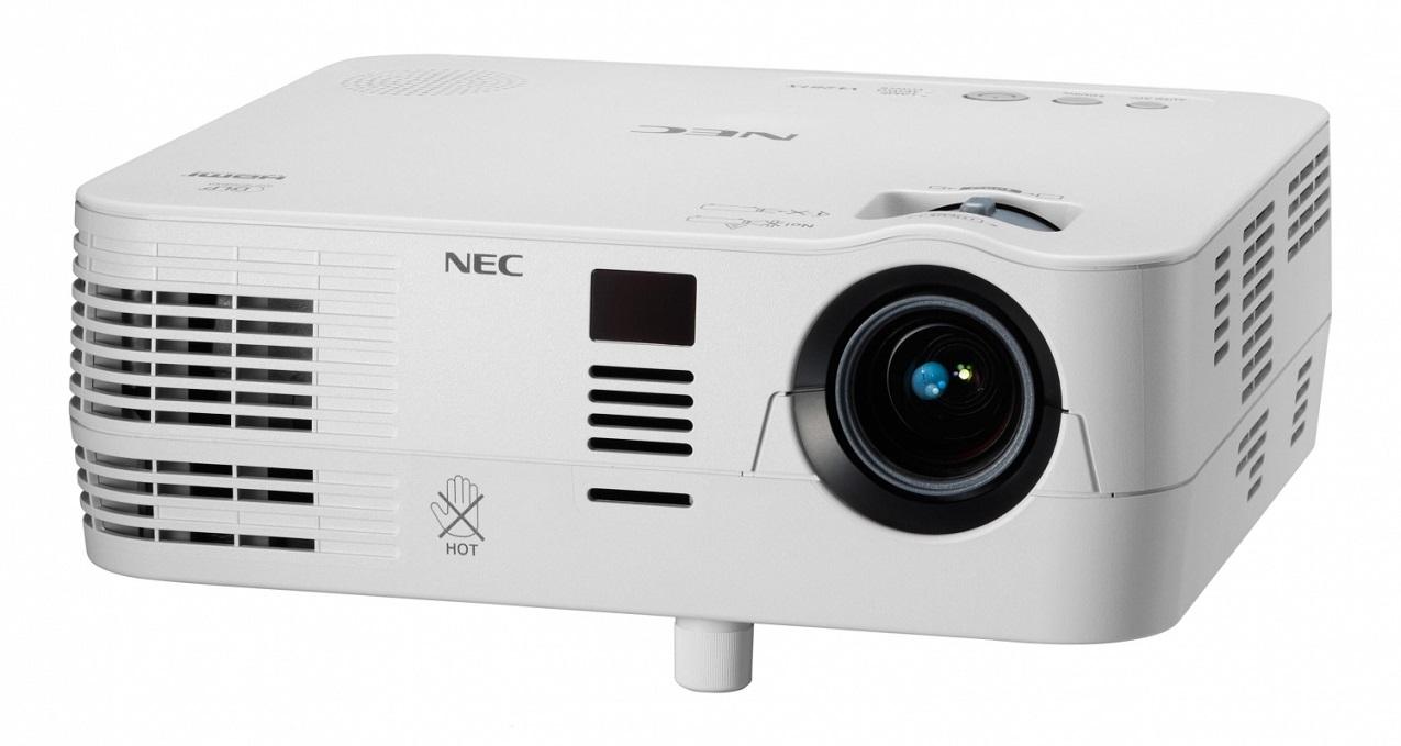 NEC DLP proj. V260X - 2600lm,XGA,HDMI,RJ45