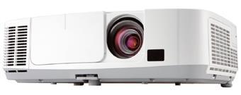 NEC LCD proj. P401W-4000lm,WXGA,HDMI,USB,LAN,lens