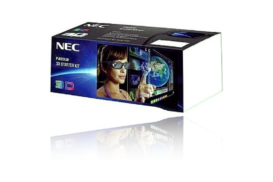 NEC 3D starter kit NP02SK3D