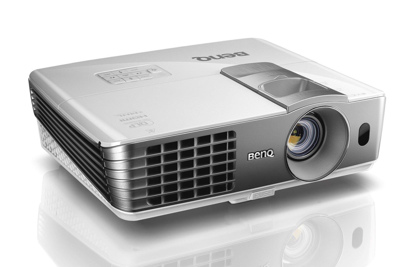 DLP Proj.BenQ W1070+- 2200lm,FHD,HDMI,l.shift