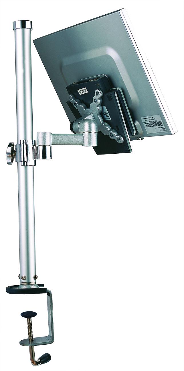 Držák LCD stolní - MD2420, 13''-24'',kloub,silver