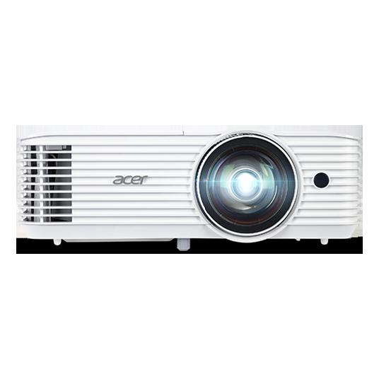 Acer DLP S1286H (ShortThrow) - 3500Lm, XGA, 20000:1, HDMI, VGA, USB, repro., bílý - MR.JQF11.001