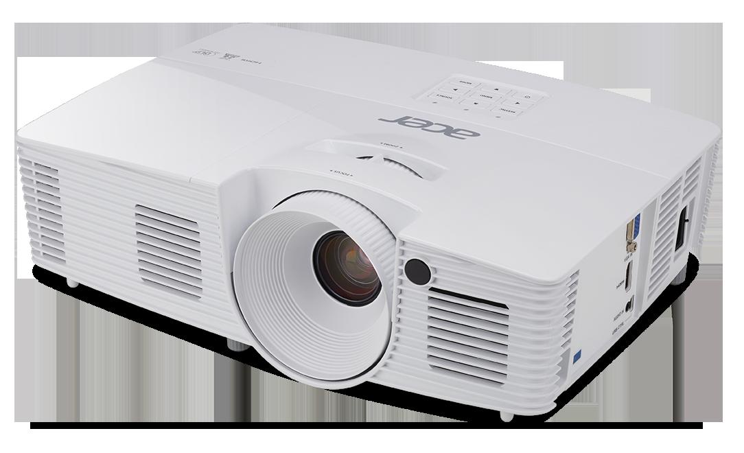 DLP Acer X137WH - 3700Lum,WXGA,20000:1, HDMI