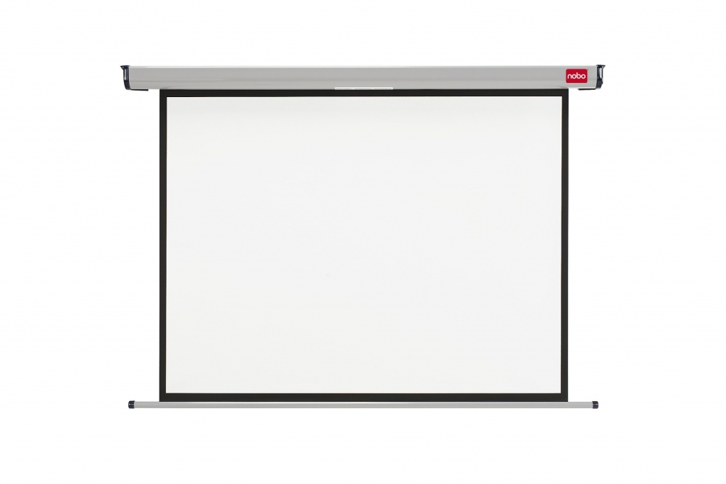 Elektrické projekční plátno NOBO, 144x108cm (4:3)