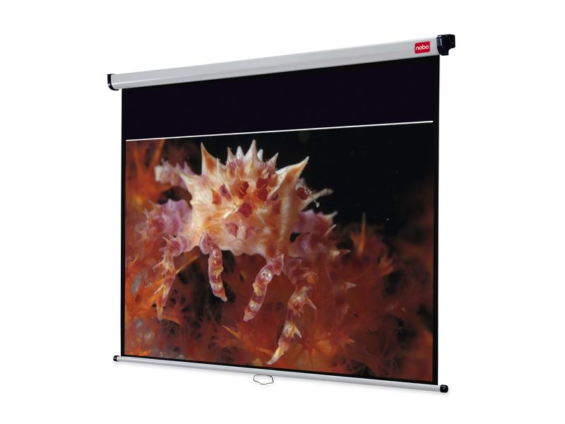 Nástěnné projekční plátno NOBO, 175x109cm (16:10)