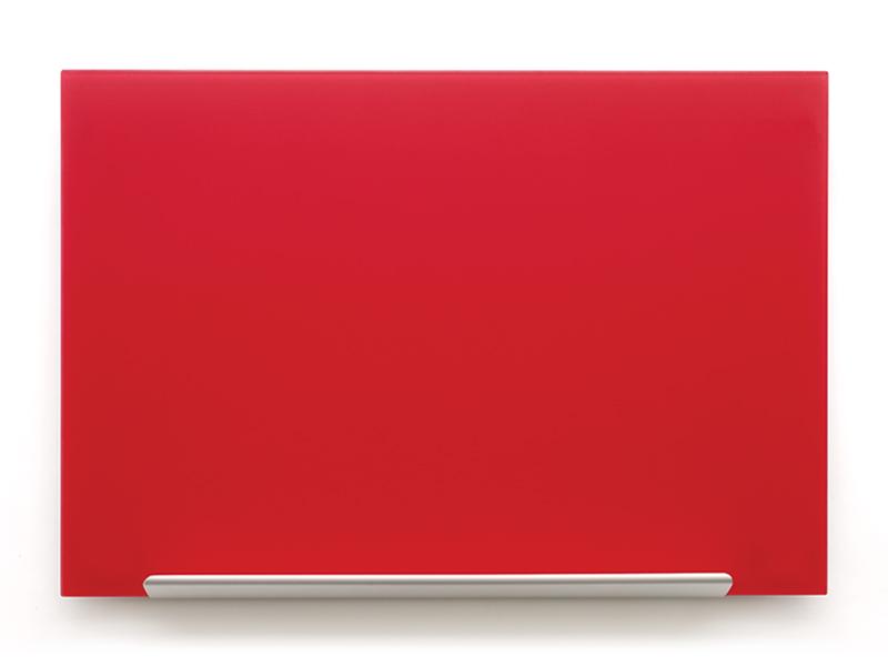 Skleněná tabule Diamond glass 67,7x38,1 cm, red