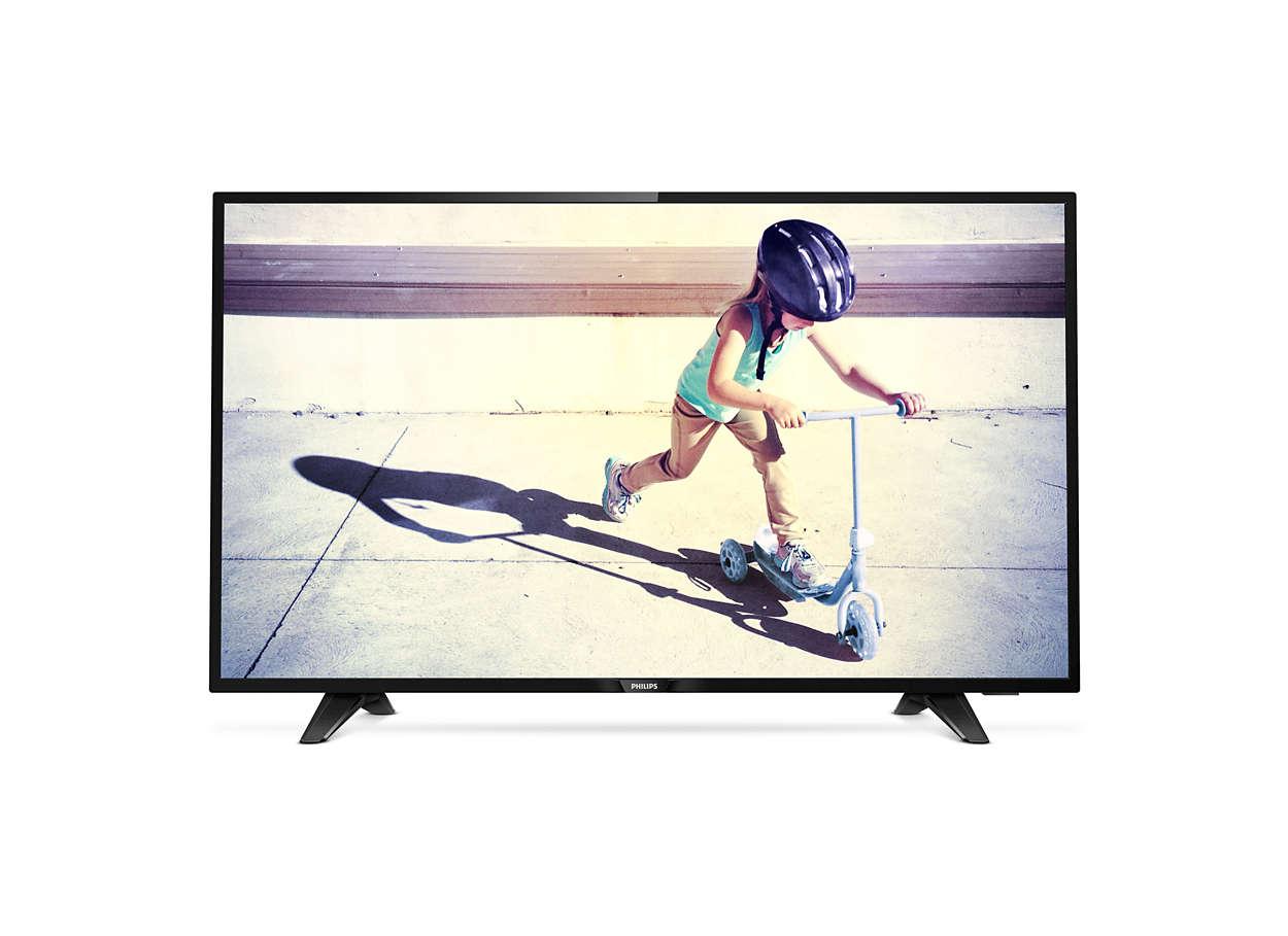 "Philips 43"" LED 43PFS4132,FHD,DVB-T2/C/S2, HDMI"