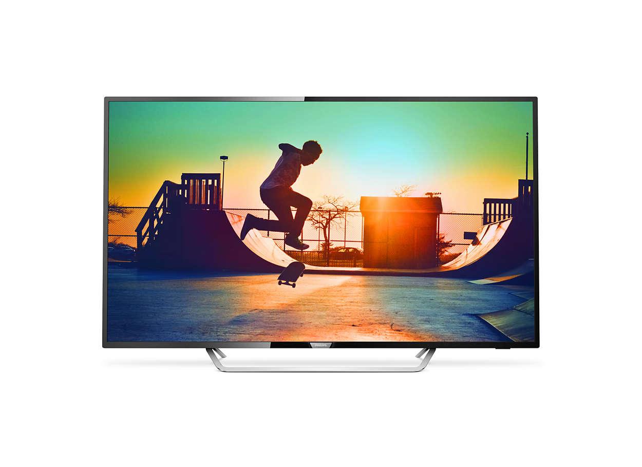 "Philips 65"" LED 65PUS6162,4K UHD,DVB-T2/C/S2, WIFi"