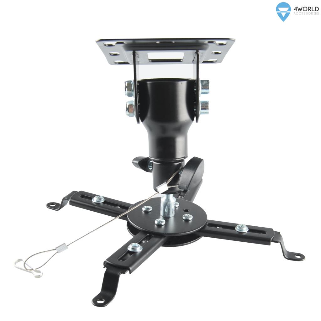 4W Stropní držák projektorů otočný/sklopný 20kg BL