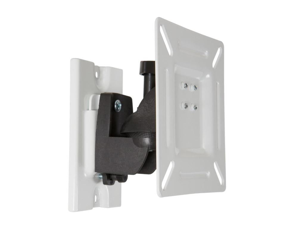 """4W Držák LCD 15-32"""" jednoramenný otočný sklopný WH"""