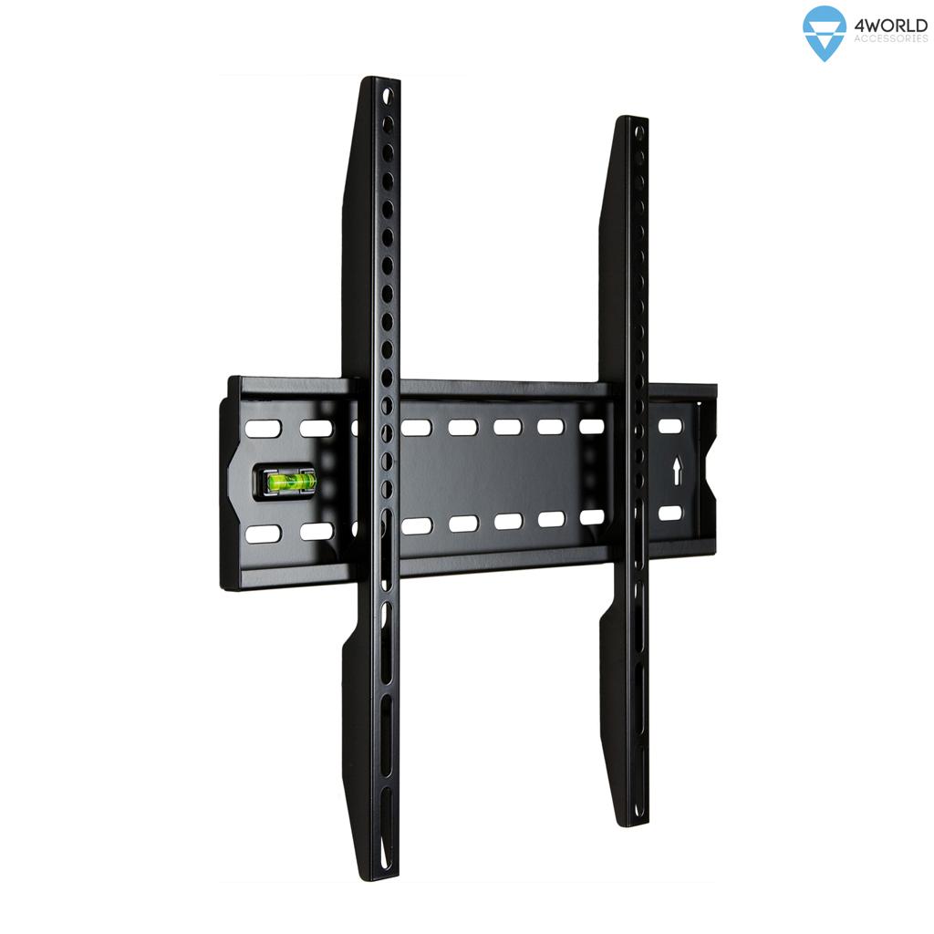 """4W Fixní držák pro LCD 20-50"""" SLIM nosn. 50kg BLK"""