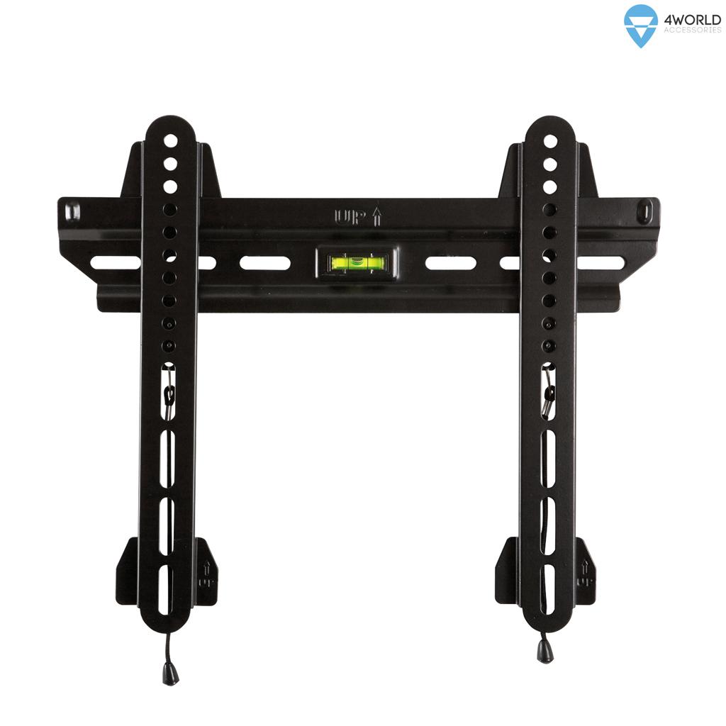 """4W Fixní držák pro LCD 15-65"""" SLIM max. 45kg BLK"""