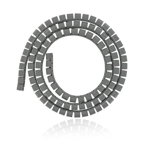 4W Organizér kabelů 16MM 1,5m šedý