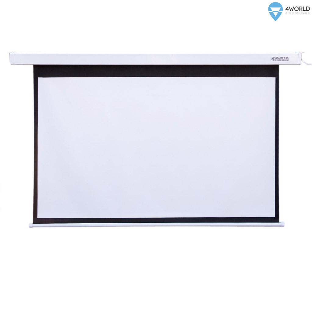 4World Projekční plátno elektrické DO 186x105 84'' 16:9 - 9465