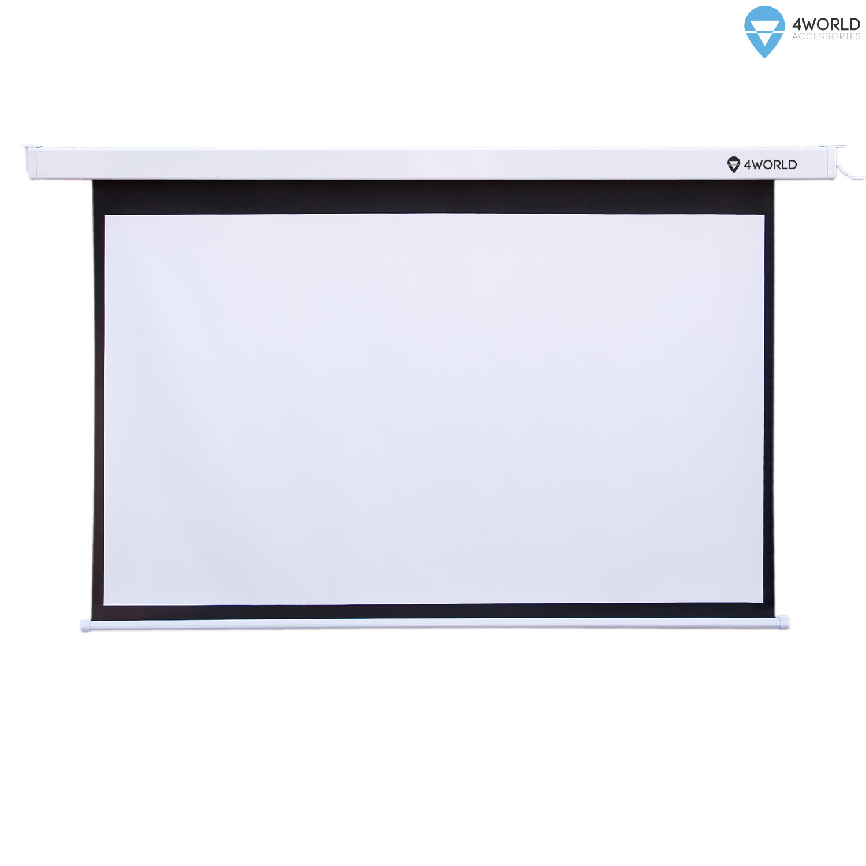 4World Projekční plátno manuální 196x146.5 97'' 4:3 - 10610