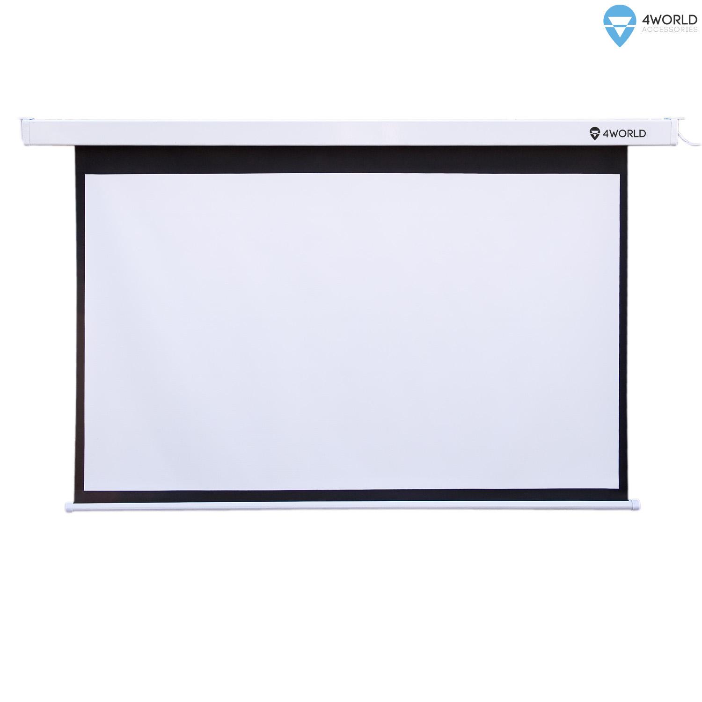 4World Projekční plátno manuální 170x127.5 84'' 4:3 - 10618